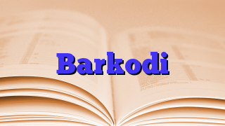 Barkodi